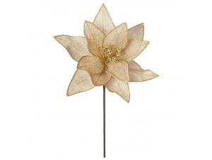 Χριστουγεννιάτικο Λουλούδι διακόσμησης 30 εκ