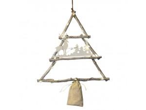 Χριστουγεννιάτικο Διακοσμητικό Δέντρο με Led 35 εκ