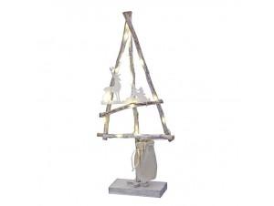 Χριστουγεννιάτικο Διακοσμητικό Δέντρο με Led 48 εκ