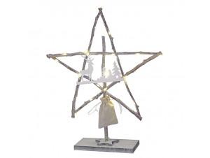 Χριστουγεννιάτικο Διακοσμητικό Αστέρι με Led 56 εκ