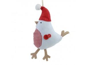 Χριστουγεννιάτικο Κρεμαστό Στολίδι Πουλάκι