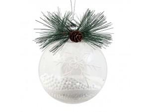 Χριστουγεννιάτικη Μπάλα Πλαστική 10 εκ