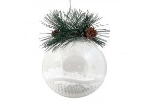 Χριστουγεννιάτικη Μπάλα 8 εκ