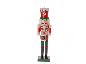 Χριστουγεννιάτικος διακοσμητικός Καρυοθραύστης 18 εκ