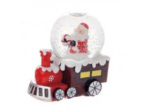 Χριστουγεννιάτικη Χιονόμπαλα Τρένο 11 εκ