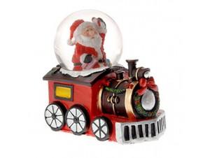 Χριστουγεννιάτικη Χιονόμπαλα Τρένο 8 εκ