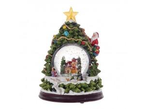 Χριστουγεννιάτικη Χιονόμπαλα 23 εκ
