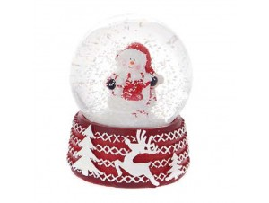 Χριστουγεννιάτικη Χιονόμπαλα 9 εκ