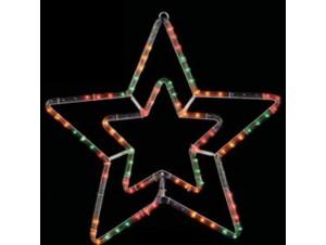 Φωτοσωλήνας σε σχέδιο διπλό αστέρι 55 εκ