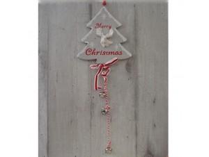 Χριστουγεννιάτικο Ξύλινο Στολίδι Δέντρο 50 εκ