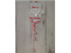 Χριστουγεννιάτικο Ξύλινο Στολίδι Γαντάκι 50 εκ