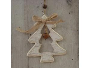 Χριστουγεννιάτικο Ξύλινο Οικολογικό Στολίδι Δέντρο