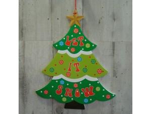 Χριστουγεννιάτικο Χάρτινο Διακοσμητικό Δέντρο 58 εκ. διπλής όψης