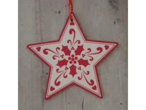 Χριστουγεννιάτικο Στολίδι διπλής όψης 12 εκ