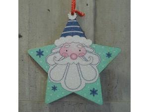 ΧριστουγεννιάτικοΔιπλής όψης Αστέρι 12 εκ
