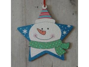 Χριστουγεννιάτικο Διπλής όψης Αστέρι 12 εκ