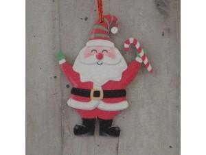Χριστουγεννιάτικο Στολίδι Άγιος 12 εκ. διπλής όψης
