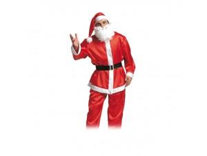 Χριστουγεννιάτικη στολή Αγιος Βασίλης Σατέν