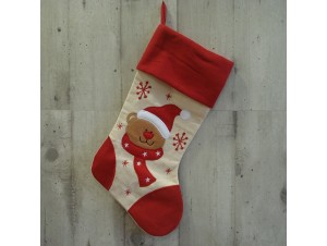 Χριστουγεννιάτικη Κρεμαστή Κάλτσα 40 εκ