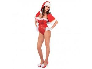 Χριστουγεννιάτικη στολή Αγιοβασιλίνα Sexy