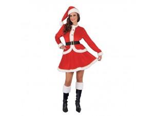 Χριστουγεννιάτικη στολή Αγιοβασιλίνα Βελούδο