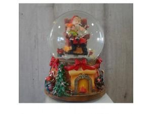 Χριστουγεννιάτικη Χιονόμπαλα με κίνηση και μελωδία