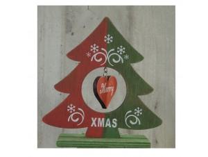 Χριστουγεννιάτικο Διακοσμητικό Δέντρο 17 εκ διπλής όψης