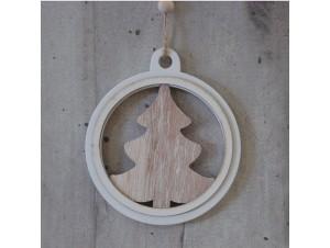 Χριστουγεννιάτικο Στολίδι Ξύλινο 10 εκ