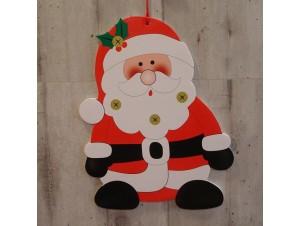 Χριστουγεννιάτικο Χάρτινο Διακοσμητικό Άγιος 38 εκ. διπλής όψης
