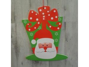 Χριστουγεννιάτικο Χάρτινο Διακοσμητικό Άγιος 40 εκ. διπλής όψης