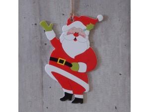Χριστουγεννιάτικο Χάρτινο Διακοσμητικό Άγιος 15 εκ διπλής όψης