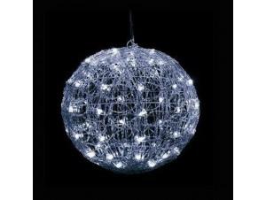 Φωτιζόμενη μπάλα με 96 Λευκo θερμό LED