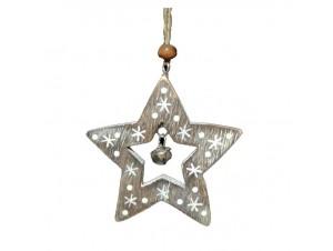 Χριστουγεννιάτικο Κρεμαστό Στολίδι Αστέρι