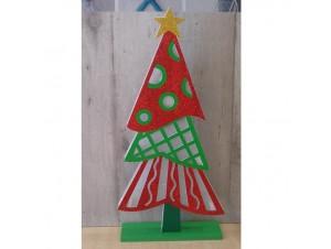 Χριστουγεννιάτικο επιτραπέζιο διακοσμητικό με Led 45x22 εκ.
