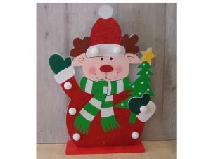 Χριστουγεννιάτικο επιτραπέζιο διακοσμητικό με Led 33x26 εκ.