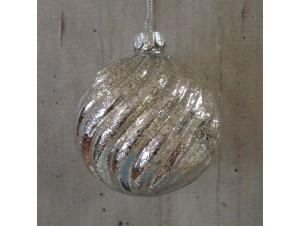 Χριστουγεννιάτικη Μπάλα Γυάλινη