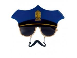 Αποκριάτικα Γυαλιά Αστυνομικού με μουστάκι