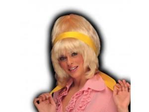 Αποκριάτικη περούκα Σούζαν Ξανθιά