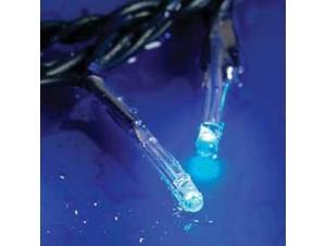 180 LED 24V Μπλε λαμπάκια δέντρου με πρόγραμμα ΠΜ