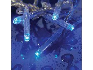 480 LED 24V Μπλε λαμπάκια δέντρου με πρόγραμμα ΔΔ