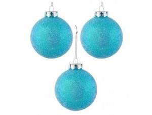 Set 6 τμχ. Χριστουγεννιάτικη μπάλα 8 εκ