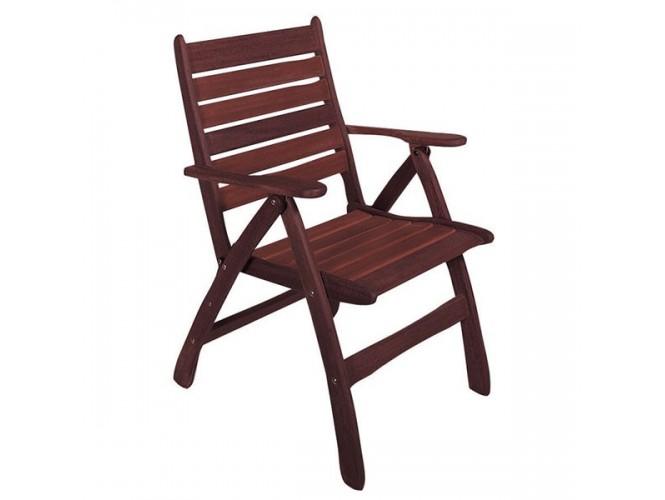Πολυθρόνα Κήπου ξύλινη Πτυσσόμενη