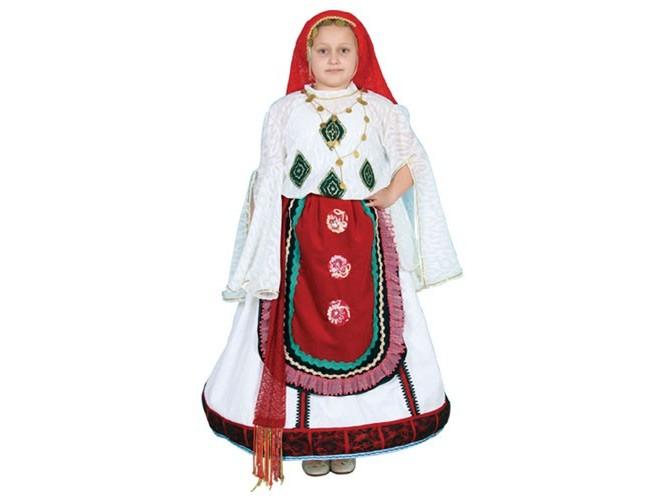 Παιδική Παραδοσιακή Στολή Αίγινα