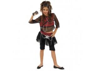 Αποκριάτικη στολή Κορίτσι Ρόκ