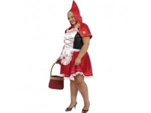 Αποκριάτικη στολή Κοκκινοσκουφίτσα Plus-