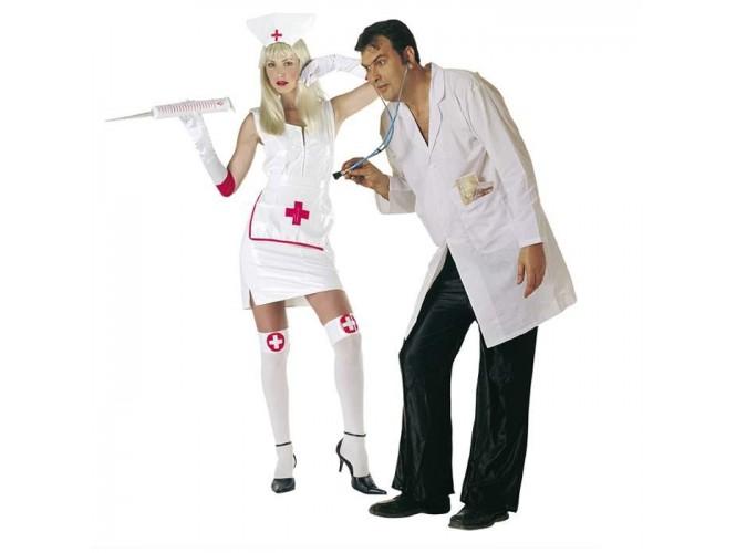 Αποκριάτικη στολή Νοσοκόμα Βινύλ