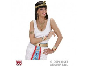 Αποκριάτικο Κολιέ σκουλαρίκια Αιγύπτιας