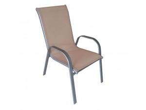 Πολυθρόνα μεταλλική THEROS-SA