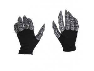 Αποκριάτικα Αξεσουάρ Γάντια με νύχια Λύκου
