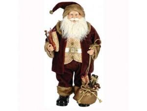 Άγιος Βασίλης Όρθιος με βιολί και δώρα